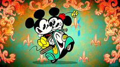 """Mickey Mouse Short """"Croissant de Triumph"""" Wins Three 2013 Emmys  Disney's Mickey Mouse animated short """"Croissant de Triomphe"""" received three 2013 Emmys, including Outstanding Short-format Animated Program. Includes pictures and the animated short."""
