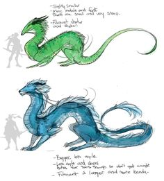 """nickutried: """"Same family tree, different genera. Tried to base them on how their ults work more than anything. The Hanzo-dragons head is drawn over a crocodile skull more than anything else, and has a strong bite (go look up crocodiles bite force,..."""