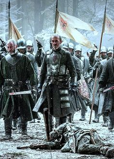 """Stannis being every inch """"the one true king"""""""