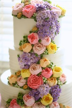 masam manis: 3 tier weading cake