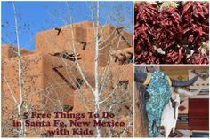 5 Free Things to Do in Santa Fe, New Mexico with kids #santafe