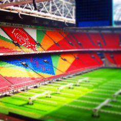Picture @resiyus  arena stadium #ajax #amsterdam #arena #hollandpass #nederland #visit