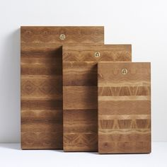 Patchwork Cutting Boards From An Oakland Design Studio