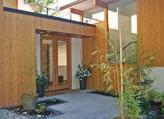 mid century modern homes stucco | Could Be Happy Here: Mid-Century ...