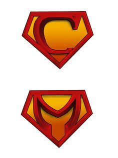 add your own letter inspired by superman s logo superman rh pinterest com create your own superman logo online make your own custom superman logo