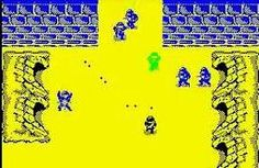 Commando (1986) ZX Spectrum screen grab