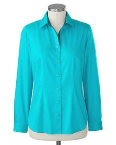 Color trim no-iron Perfect Shirt�