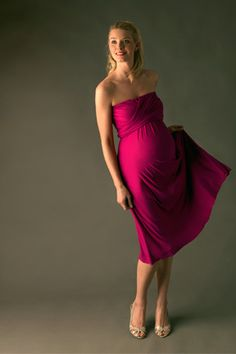 Short and Maxi Dresses For Pregnant Women