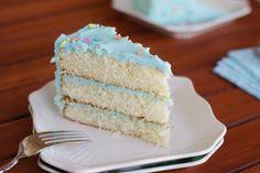 Magnolia Bakery's Vanilla Birthday Cake and Frosting