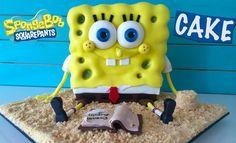 VIDEO: Step by step how to make Spongebob 3D cake