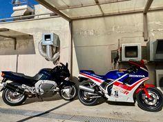Yamaha GTS 1000 A - Honda VF 1000 R by LRMPGR Motorcycle Parts, Yamaha, Honda, Motorcycles, Living Room, Home Living Room, Drawing Room, Lounge, Motorbikes