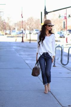 Boyfriend Jeans Outfit by Gap