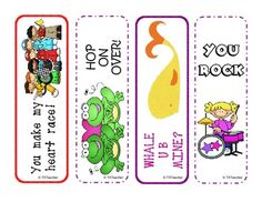 FREE Valentine Bookmarks!!! - TX Teacher - TeachersPayTeachers.com