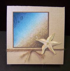 **CAS179 TLC286 Starfish by hobbydujour - Cards and Paper Crafts at Splitcoaststampers