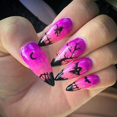 DIY Halloween Nail Art Ideas