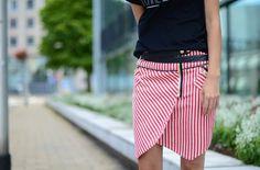 Candy Stripes! Skyline Skirt by Three Floor  #Indiana #IU #Hoosiers