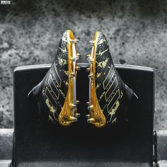 20e68f479bc Adidas Pogba Capsule collection ACE 17+ PureControl Paul Pogba Signature  Black Golden