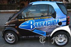 Smart Car Cudawrapped