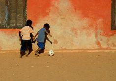 Future football stars #senegal