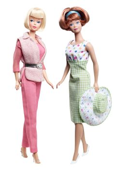"""Never liked the """"Midge"""" doll, but I gotta say, I love that checkerboard/polka dot outfit she's wearing.  Where can I get it in my size?"""