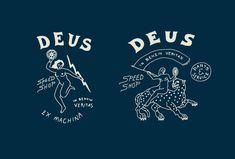 Deus ex machina, Work by Land Typography Logo, Logos, Typography Design, Design Elements, Design Art, Graphic Design, Logo Inspiration, Logo Label, Simple Artwork