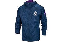 adidas Kids Real Madrid Full-zip Hoodie - Collegiate Navy  7aa77ffb49145