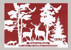 Woodland Wedding Papercut - Personalized Wedding Gift #Weddings  #GiftsandMementos  #GiftsForTheCouple  #WoodlandWedding  #Papercut  #PersonalizedWedding  #WeddingPresent #RusticWedding  #BridalShowerGift  #EngagementGift  #NatureWedding  #PersonalizedArt  #1stAnniversaryGift  #ForestWeddingAnniversary #forHim  #HusbandGift