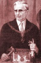 """Licio Gelli (born in Pistoia, Tuscany, April 21, 1919) is an Italian financier, chiefly known for his role in the Banco Ambrosiano scandal. He was revealed in 1981 as being the Worshipful Master of the clandestine Masonic lodge Propaganda Due (P2). During the 1930s, Licio Gelli volunteered for the """"Black Shirt"""" expeditionary forces sent by Mussolini to Spain. He participated in the Italian Social Republic with Giorgio Almirante, founder of the neofascist Italian Social Movement (MSI)."""