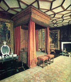 State Bed, Knole Ca1670s.