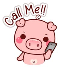 I am called 'Pigma', a cute cuddly pig. I will bring more excitement and fun to your chatting experience. This Little Piggy, Little Pigs, Kawaii Pig, Pig Images, Cute Piglets, Pig Drawing, Pig Illustration, Pig Art, Mini Pigs