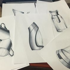 Water Bottle Hand Rendering | 031_designlap