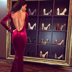 ♔ Luxury Evening Dresses. Ulviyya S. #luxurylifestyle #luxury #inspiration Visit www.memoir.pt