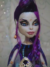 "~ Saya ~ OOAK Monster High ""Boo York""  Elle Eedee Repaint Doll ~ by Bordello ~"