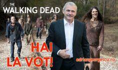 În Teleorman a început votarea. The Walking Dead, Movies, Movie Posters, Films, Film Poster, Walking Dead, Cinema, Movie, Film