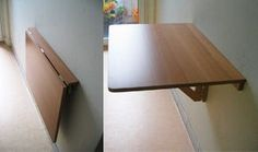 norbo-2: the ikea folding table. Would be great in a tiny house.