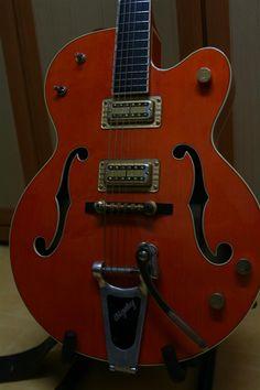 Gretsch Nashville 6120 | 23jt Gretsch, Nashville, Bass, Music Instruments, Guitars, Lowes, Musical Instruments, Double Bass
