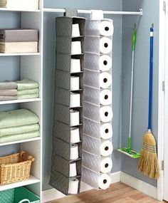 Bathroom Storage & organization ConceptsExeptional Bathroom Storage & organization Concepts product Creative (and Simple) DIY Toilet Paper Holders - . - Deny Designs Bianca Green It's Your World Tapestry - Multi Blvd Full Siz. Pantry Storage, Storage Hacks, Closet Storage, Diy Storage, Storage Ideas, Storage Containers, Kitchen Storage, Storage Design, Creative Storage