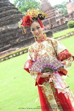 ミスグランド2014の中国の民族衣装