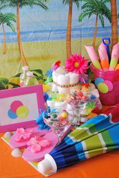 Beach Baby Shower--do it at the beach! Take a trip to the beach!  www.floridabeachbums.com & Facebook: Florida Beach Bums
