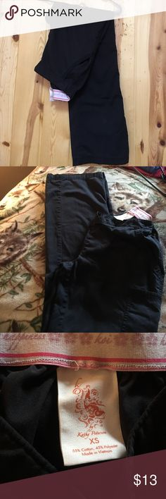 "Koi Marissa Pant XS Regular Inseam 31"" GUC Koi Marissa Pant XS Regular Inseam 31"" GUC Pant is Cargo Pant Black in color Koi Pants"