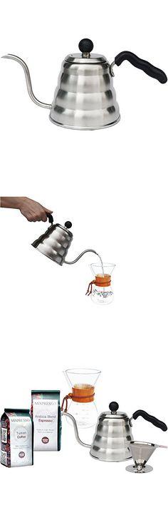Gooseneck Kettle - Barista Pour Control Design - by Mixpresso Coffee