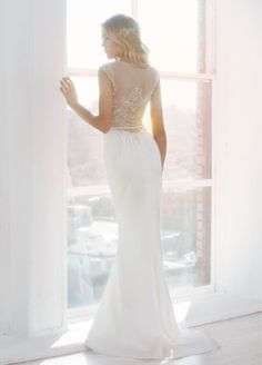Bridal Gowns, Wedding Dresses by Ti Adora - Spring 2014 Collection - JLM Couture