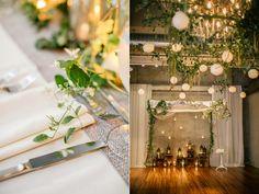 reception ideas - photo by Emily Wren http://ruffledblog.com/front-palmer-philadelphia-wedding