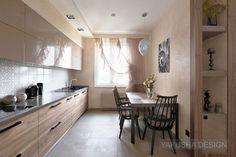 Kitchen area. Design by Viktoria Yakusha and Yakusha Design. Apartment 220 sq.m., Dnipropetrovsk, completed