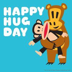 Repin if you want a hug from Julius! #PaulFrank