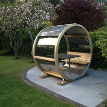 Garden pods: discover the all-new outdoor home office Outdoor Spaces, Outdoor Living, Sico, Garden Pods, Table Measurements, Outdoor Shelters, Outdoor Office, Coffee With Friends, Pergola