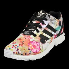 ADIDAS ZX FLUX 'FARM' PRINT (wms) now available at Foot Locker