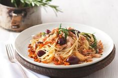 Spaghetti, Food And Drink, Menu, Pasta, Healthy Recipes, Ethnic Recipes, Fit, Yum Yum, Italy