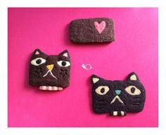 efuca Cookie Box, Cookie Cutters, Fun Food, Good Food, Icebox Cookies, Japanese Sweets, Cute Cookies, Sweet Sweet, Baking Ideas