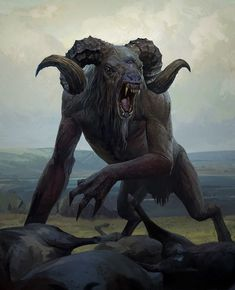 Chort - This abominable, bovine beast is known from Slavic mythology, and is thought to originate from Hell itself. It acts as both an incredibly strong physical threat, as well as a shapeshifting trickster, and can only be killed by using iron to penetrate its massively strong hide.
